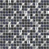 Мозаика AZORI Дефиле 300x300 nero XH156-420CP