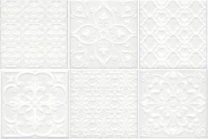 Облицовочная плитка Суррей Белый (5226)