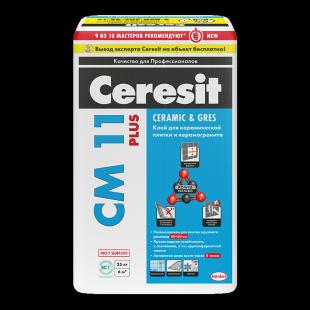 Ceresit CM 11 Plus  Церезит Клей для керамической плитки (25кг)