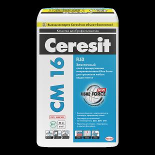 Ceresit CM 16 Flex  Церезит Эластичный клей для любых видов плитки