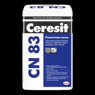 Ceresit CN 83 Церезит Ремонтная смесь для бетона