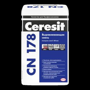 Ceresit CN 178  Церезит Выравнивающая смесь для пола (5-80 мм)