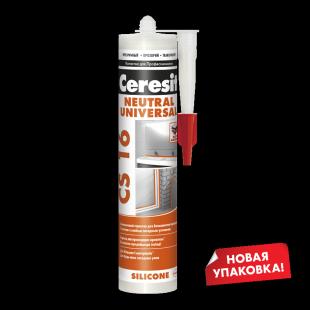 Ceresit CS 16 Церезит Нейтральный силиконовый герметик