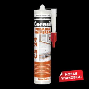 Ceresit CS 24 Церезит Универсальный силиконовый герметик