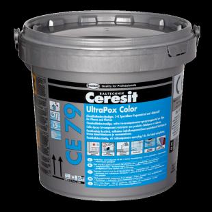 Ceresit CE 79 UltraPox.  Церезит 2-компонентная затирка для заполнения швов