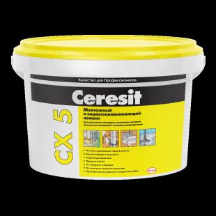 Ceresit CX 5 Церезит Монтажный и водоостанавливающий цемент