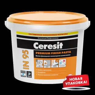 Ceresit IN 95 Церезит Белая полимерная шпаклевка готовая к применению
