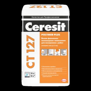 Ceresit CT 127  Церезит Белая полимерная шпаклевка для внутренних работ