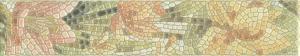 Бордюр настенный Летний сад Бордюр Лилии лаппатированный 5,7х30