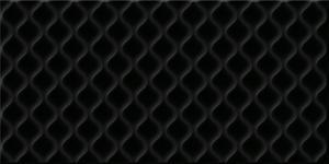 Облицовочная плитка Deco Рельеф черный