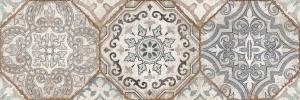 Декор настенный Majolika Декор Коричневый многоцветный 20х60