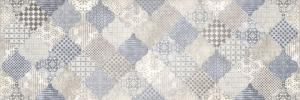 Декор настенный Majolika Декор голубой многоцветный 20х60 MA2O041