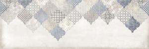 Декор настенный Majolika Декор голубой многоцветный 20х60 MA2O042