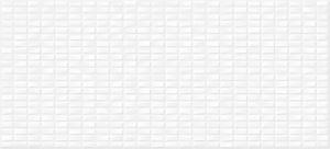 Облицовочная плитка Pudra Мозаика белый рельеф