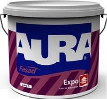 Краска ВД AURA Fasad Expo матовая фасадная основа TR 2,7 л
