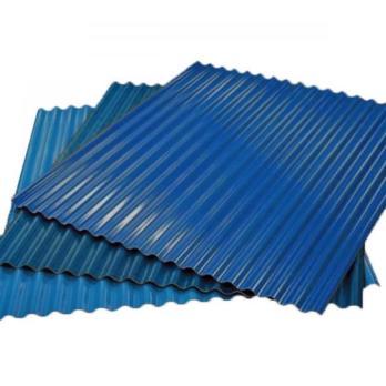 Гофрированный лист (гофролист) С15 RAL 5005 сигнальный синий 0.7 мм