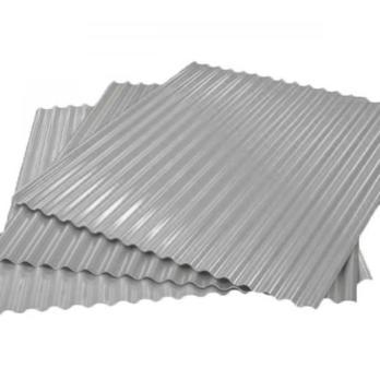 Гофрированный лист (гофролист) С15 RAL 7040 серое окно 0.7 мм