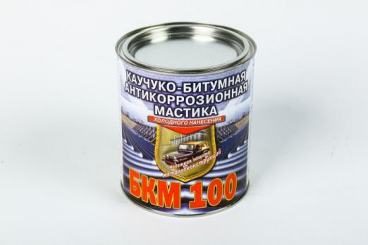 Мастика РОГНЕДА каучуко-битумная БКМ-100 антикоррозионная 0,75 л