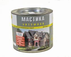 Мастика ЛОНТРЕК битумная 4 кг