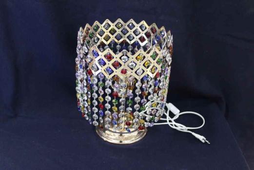Настольная  Лампа Корона разноцветная
