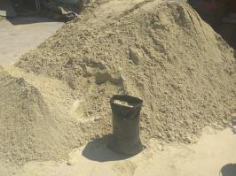 Песок морской сеяный фасованный В Севастополе