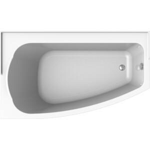 Акриловая ванна Radomir Орегона 170х100 левая, с каркасом, фронтальной панелью, сливом-переливом (1-01-2-1-1-172К)