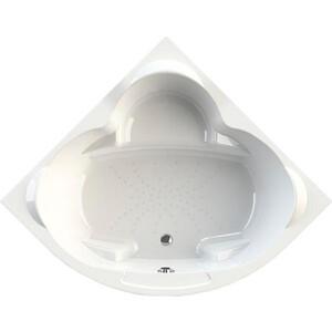 Акриловая ванна Radomir Сорренто 148х148 с каркасом, фронтальной панелью, сливом-переливом (1-01-2-0-9-037К)