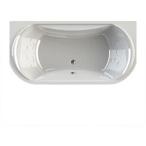 Акриловая ванна Radomir Титан-лонг 200х100 с каркасом, фронтальной панелью, сливом-переливом (1-01-2-0-1-040К)