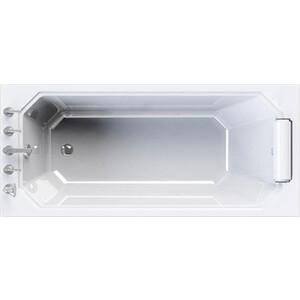 Акриловая ванна Radomir Уэльс 170х75 с каркасом, фронтальной панелью, подголовником, сливом-переливом (1-01-2-0-9-115К)