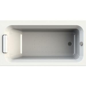 Акриловая ванна Radomir Хельга 170х90 с каркасом, фронтальной панелью, подголовником, сливом-переливом (1-01-2-0-9-045К)