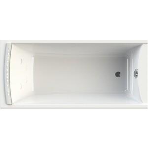 Акриловая ванна Radomir Вега 168х78 правая, с каркасом, фронтальной панелью, подголовником, сливом-переливом (1-01-2-2-1-023К)