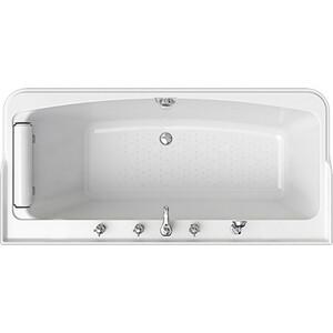 Акриловая ванна Radomir Винченцо 180х85 с каркасом, фронтальной панелью, подголовником, сливом-переливом (1-01-2-0-1-134К)