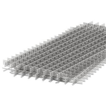 Сетка сварная неоцинкованная в картах кладочная 100х100х4мм 1х2 м