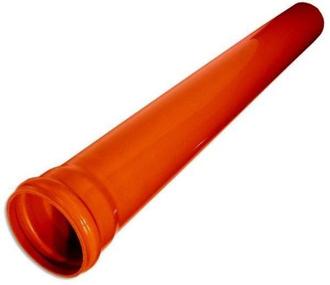 Труба д/наружной канализации 110х3000 (Политек)