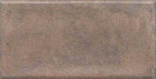 Облицовочная плитка Виченца коричневый 7,4х15
