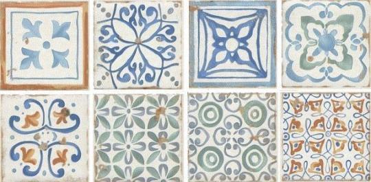 Декор настенный Виченца Вставка Майолика 4,9х4,9 HGD\A181\5246