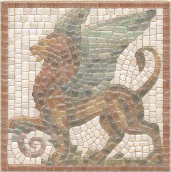 Декор настенный Виченца Декор 15х15 Лев HGD\A139\17000