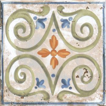 Декор настенный Виченца Декор 15х15 Майолика HGD\A149\17000