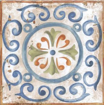 Декор настенный Виченца Декор 15х15 Майолика HGD\A152\17000