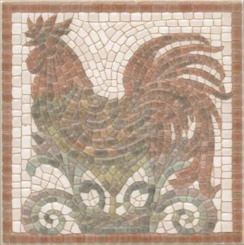 Декор настенный Виченца Декор 15х15 Петух HGD\A136\17000