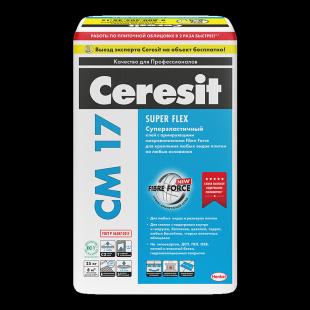 Ceresit CM 17 Церезит Высокоэластичный клей для плитки