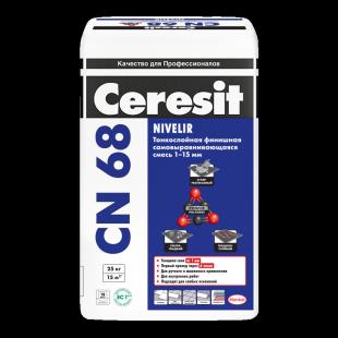 Ceresit CN 68 Церезит Тонкослойная самовыравнивающаяся смесь