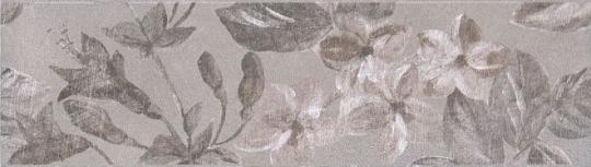 Бордюр настенный Александрия Бордюр серый 5,7х20