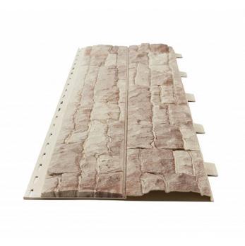 Панель фасадная Доломит Скалистый риф Коралл 3000х220 мм