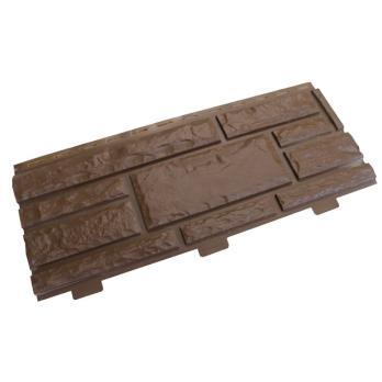 Панель фасадная Доломит Стандарт Шоколад-1 3000х220 мм
