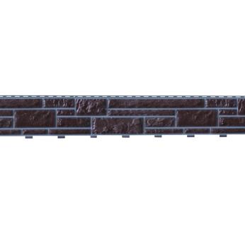 Панель фасадная Доломит Стандарт прокрашенный Корица 3000х220 мм