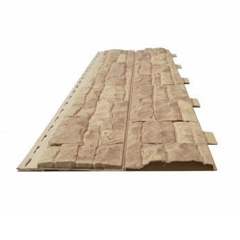 Панель фасадная Доломит Скалистый риф Янтарь 3000х220 мм