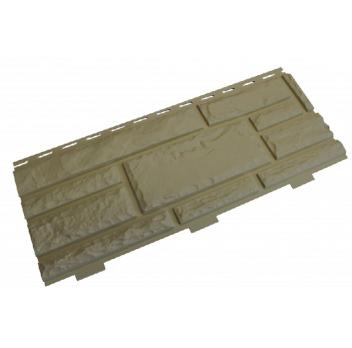 Панель фасадная Доломит Стандарт бежевая 3000х220 мм