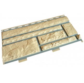 Панель фасадная Доломит Стандарт прокрашенный Орех 3000х220 мм