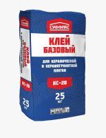 Клей для плитки Суффикс КС-20 ПЛЮС 25 кг